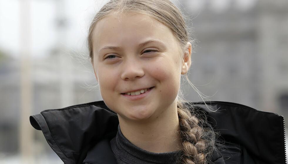 FÅR FREDSPRIS: Greta Thunberg. Foto: NTB scanpix