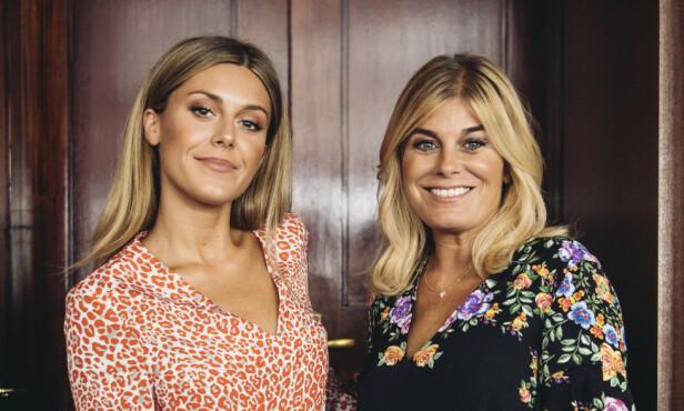MOR OG DATTER: Bianca Ingrosso er godt kjent gjennom blant annet tv-serien «Wahlgrens värld», som følger livet til familien hennes - med mora Pernilla Wahlgren i front. Foto: NTB Scanpix