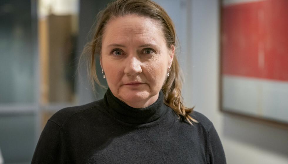 IKKE FØLGE STATEN: Eva Kristin Hansen (Ap) mener at stortingsrepresentantene ikke må følge utviklingen i lederlønningene i Staten, hvor det har vært store økninger. Foto: Heiko Junge / NTB scanpix