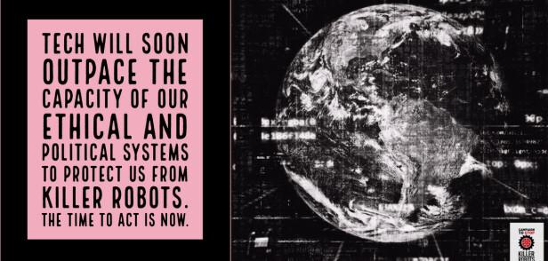 RASENDE UTVIKLING: Teknologien av drapsroboter utvikles i enorm fart. Det politiske stystemet må beskytte oss fra dem. Nå, er meldingen fra Campaign to Stop Killer Robots