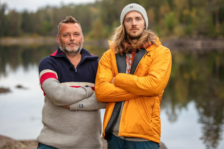 UTE: Jens Ivar Simonsen måtte søndag se seg slått av Leif Kristian Tindeland i tvekampen. Foto: Alex Iversen / TV 2