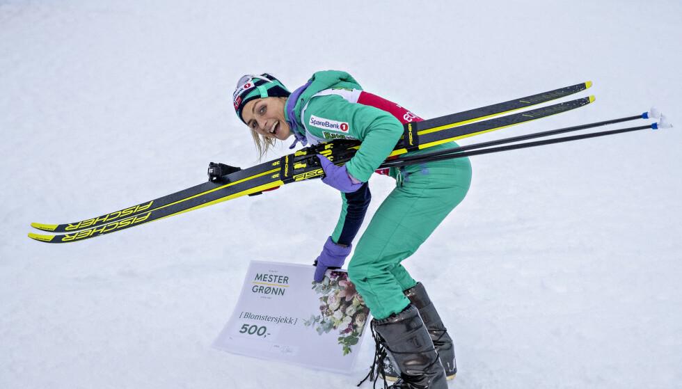 I SLAG: Therese Johaug herjer både som langrennsløper og løper. Foto. Bjørn Langsem / Dagbladet