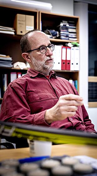 SIKKER: Martin Schlabach sier metoden for å avdekke fluorjuks er vitenskapelig sikker. Foto: Bjørn Langsem