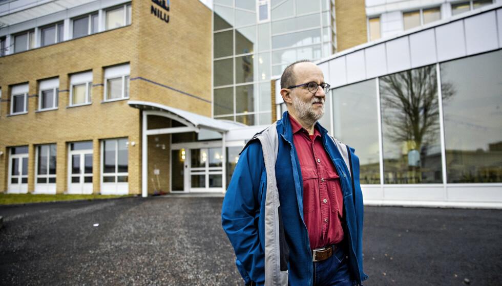TRENGER PENGER:: Seniorforsker Martin Schlabach håper på finansiering så en metode for å avdekke fluorjuks kan være på plass til neste skisesong. Foto: Bjørn Langsem