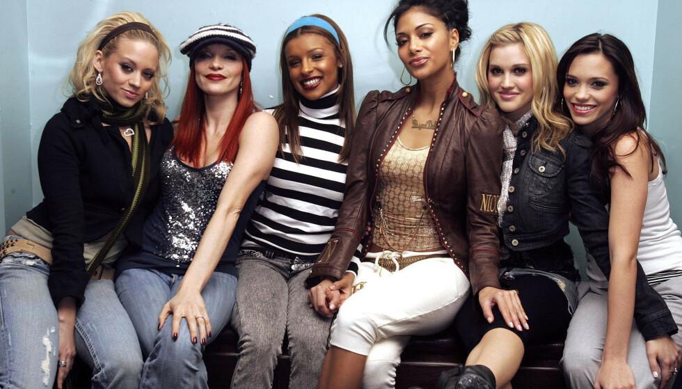 BERØMT GRUPPE: The Pussycat Dolls hadde sin storhetstid på 2000-tallet. I midten sitter Nicole Scherzinger. Foto: NTB Scanpix