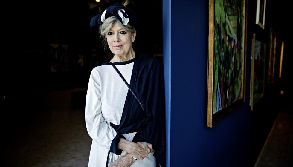 SAMTALEBOK: Den danske forfatteren Suzanne Brøgger er Alf van der Hagens siste samtalepartner. Foto: NINA HANSEN