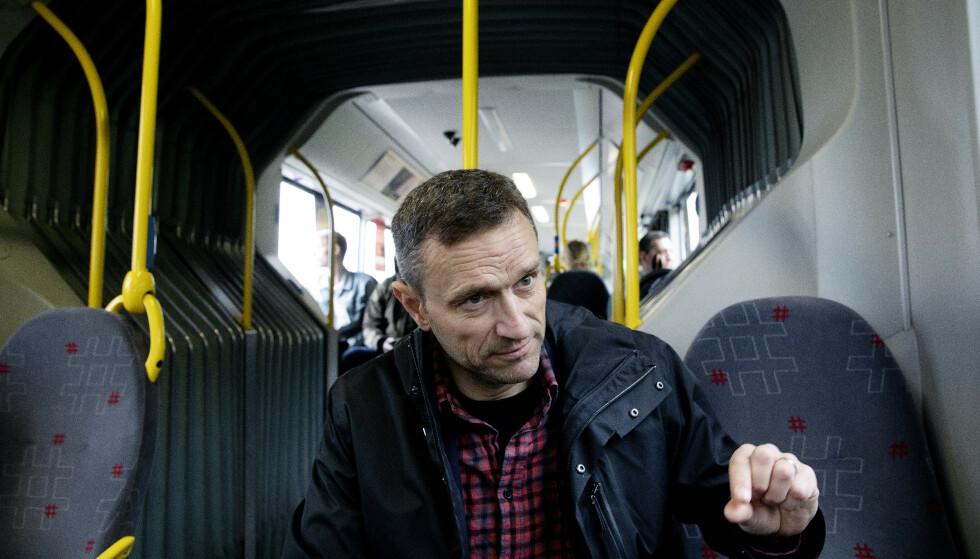 FARE: Arild Hermstad, nasjonal talsperson for MDG, mener Norges sparepenger er i fare ved å fortsette å investere i olje. Foto: Kristin Svorte / Dagbladet