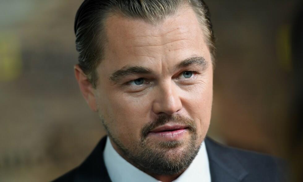 FÅR SKYLDA: Skuespiller Leonardo DiCaprio er blant dem Brasils president mener har skylden for de rekordmange skogbrannene som herjet Amazonas i august. Foto: NTB Scanpix