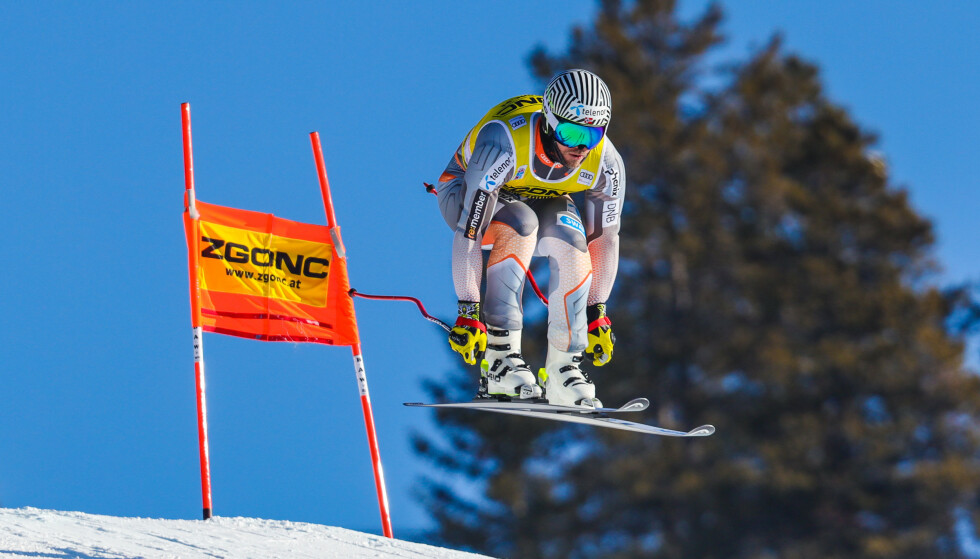 Nov 28, 2019; Lake Louise, Alberta, CAN; Kjetil Jansrud of Norway competes during downhill training for the Lake Louise FIS Men's Alpine Skiing World Cup at Lake Louise Ski Resort. Mandatory Credit: Sergei Belski-USA TODAY Sports