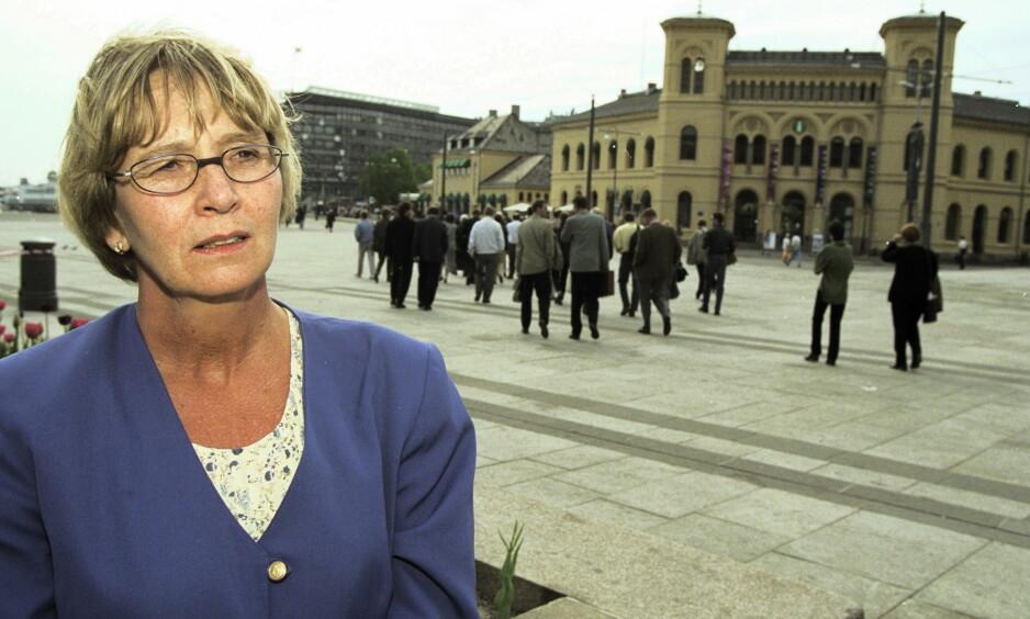 SENTRAL AP-POLITIKER: Grethe Fossum innehadde sentrale posisjoner i Arbeiderpartiet i en årrekke. Arkivbilde: Espen Røst / Dagbladet