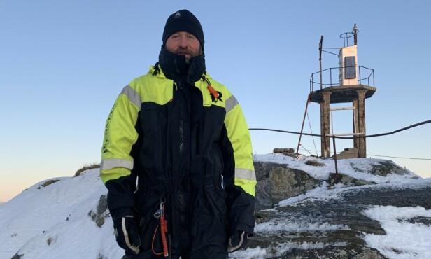 ETTÅRSPROSJEKT: Odd-Karl skulle etter planen bo på Skjervøyskjæret i et år. Foto: Hanne H.K. Unander