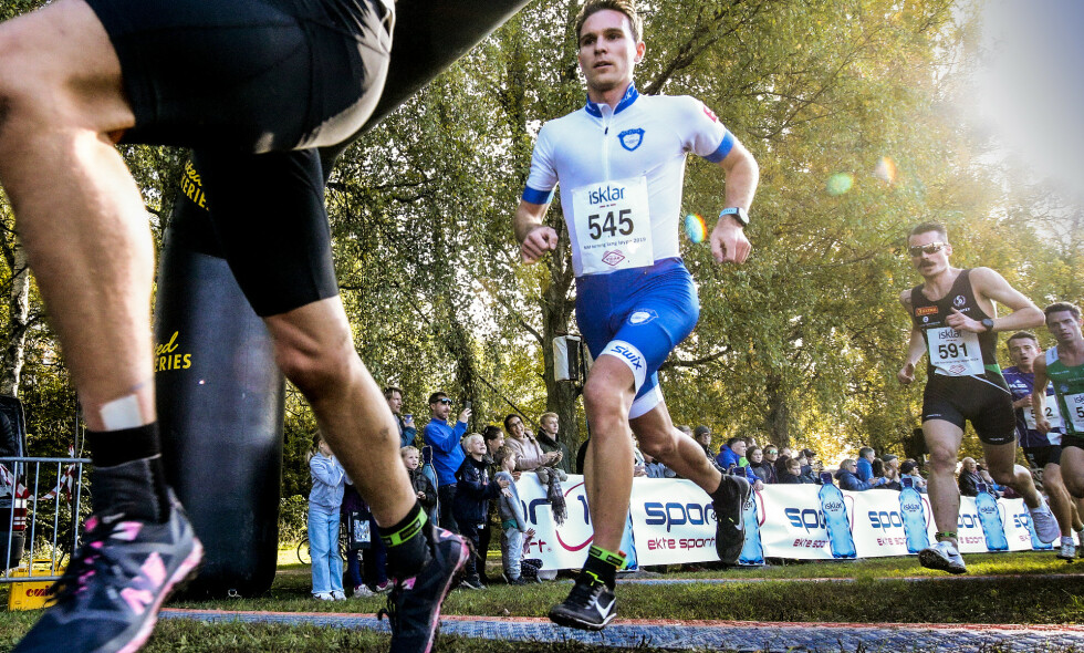 TAR PAUSE FRA LANGRENN: Didrik Tønseth løper EM i terrengløp i helga - i stedet for verdenscup langrenn på Lillehammer. Foto: Bjørn Langsem / Dagbladet