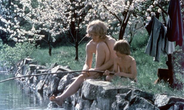GJENNOMBRUDD: Både Lars Söderdahl og Staffan Götestam fikk sine gjennombrudd i den svenske filmklassikeren «Brødrene Løvehjerte». Foto: NTB Scanpix