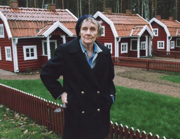 ASTRID LINDGREN: Den folkekjære forfatteren døde i 2002, 94 år gammel. Her er hun fotografert i Vimmerby i Sverige, der hun ble født i 1907. Foto: NTB scanpix