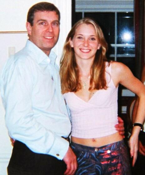 BILDET: Virginia Giuffre forteller til BBC at hun selv ba Epstein ta det mye omtalte bildet av henne og prinsen. Foto: NTB Scanpix