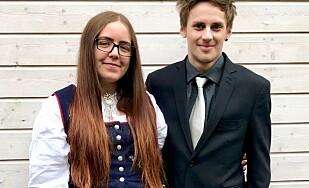 PÅ TUR: Ingrid Rothli og kjæresten hadde vært på helgetur til Sverige. Foto: Privat