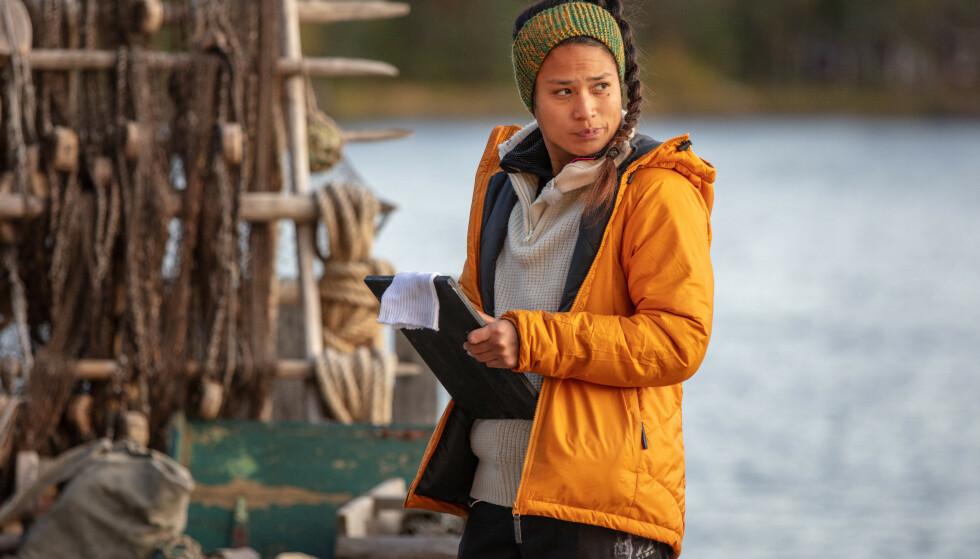 UTE I FINALEUKA: Berit Ivy Junge ble den andre deltakeren til å forlate realitygården i finaleuka. Foto: Alex Iversen / TV 2