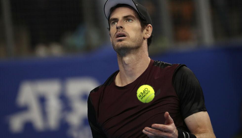 PREGET: Andy Murray havnet som niåring midt i en stor tragedie i hjembyen. Foto: AP/Francisco Seco