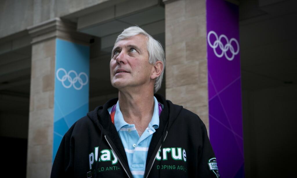 VANT PRIS: Rune Andersen kjemper mot doping. Sånt blir det pris av. Foto: NTB/Scanpix
