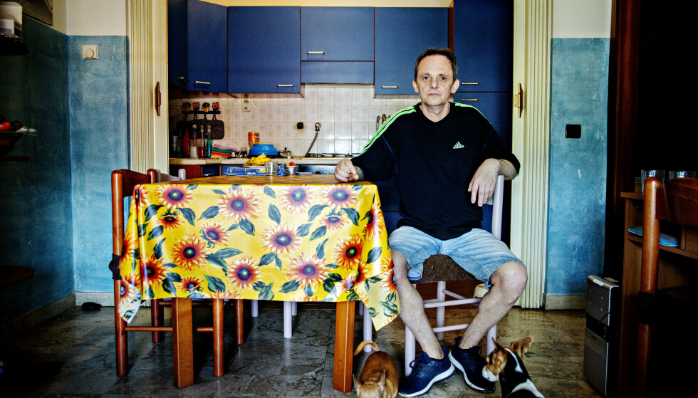 SYK: - Doktor Costa garanterte for tryggheten vår, sier Stefano de Tomasi - tidligere Miteni-arbeider. Foto: Nina Hansen