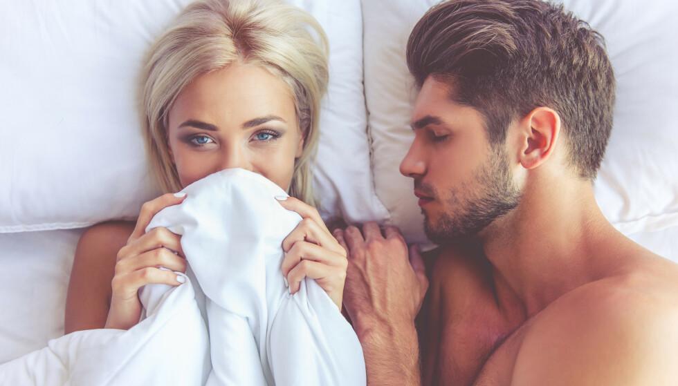 HA FOKUS: Noen er fokusert på å få orgasme under samleie fra ung alder, mens andre bruker lang tid og noen faker hele livet. - Har du først begynt å fake, har du skaffet deg en utfordring som bare blir vanskeligere med tiden, sier sexolog. Foto: Shutterstock / NTB Scanpix