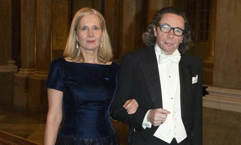 KULTURPROFILEN: Jean-Claude Arnault, her med kona Katarina Frostenson, ble dømt til to og et halvt års fengsel for voldtekter. Foto: NTB SCANPIX