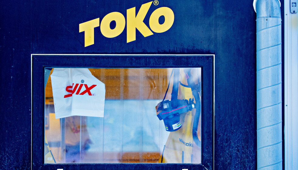 Boden: Både Toko og Swix er eid av Brav - tidligere Swix Sport. Her fra en smørebod under langrennsåpningen på Beitostølen for to uker siden. Foto: Bjørn Langsem.