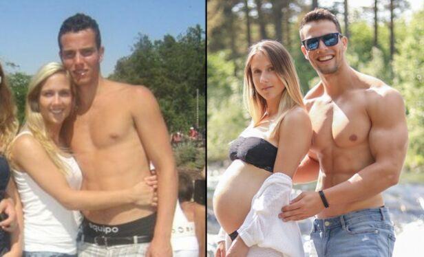 LA OM TIL PLANTEBASERT: Ekteparet Kathrine Moen og Jon Venus sverger til vegansk kosthold. Foto: privat.