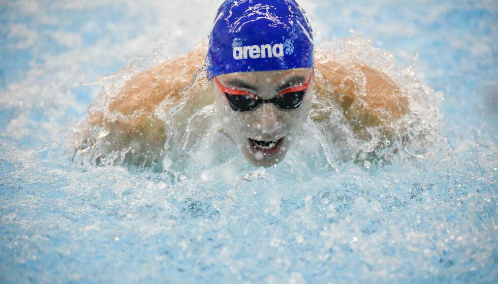 REKORD: Tomoe Zenimoto Hva satte norsk rekord.   Foto: Claudio Bresciani/TT / NTB scanpix