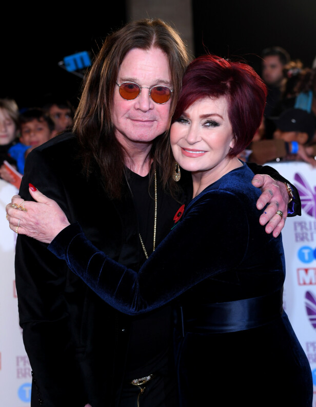KJENT DUO: Sharon og Ozzy Osbourne har hatt et svært turbulent samliv. Foto: NTB Scanpix