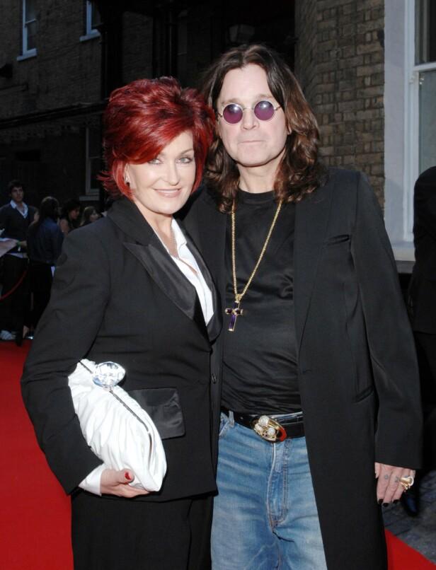 KJENT DUO: Ozzy og Sharon Osbourne var gift i mange år, men forholdet var ikke akkurat knirkefritt. Foto: NTB Scanpix