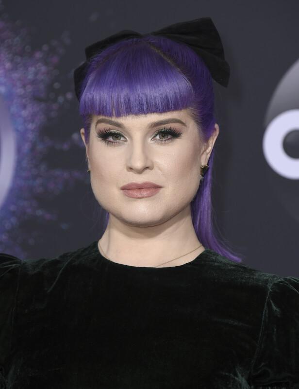 2019: Mange husker nok Kelly Osbournes ville fortid. Her er hun i 2019. Foto: NTB Scanpix