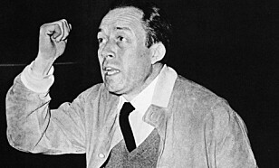 «ANTI-SOVJET»: Albert Camus var tydelig kritisk til sovjetiske handlinger. Foto: NTB Scanpix