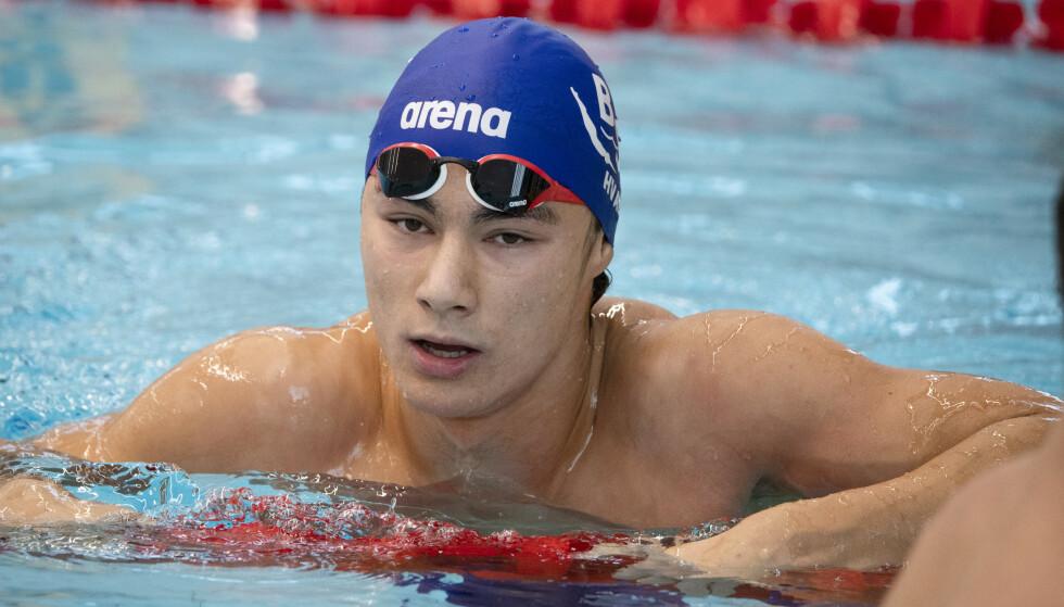 Sølv: Tomoe Zenimoto Hvas tok sølv i EM på 200 meter medley.  Foto: Henrik Montgomery/TT / NTB Scanpix