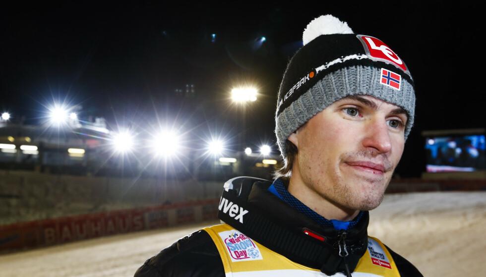 PÅ FJERDEPLASS: Daniel-Andre Tande. Foto: Terje Pedersen / NTB scanpix