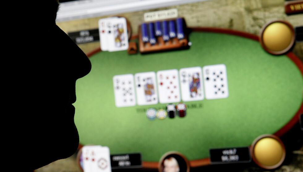 DØMT: Ifølge retten installerte den dømte pokerspilleren spionprogrammer på andre spilleres datamaskiner, slik at han kunne se deres kort. Foto: Erlend Aas / NTB Scanpix