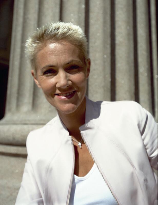 VERDENSSTJERNE: Marie Fredriksson var kjent verden over. Her er hun fotografert i 2000, i forbindelse med et Dagbladet-intervju. Foto: Tomm W. Christiansen / Dagbladet
