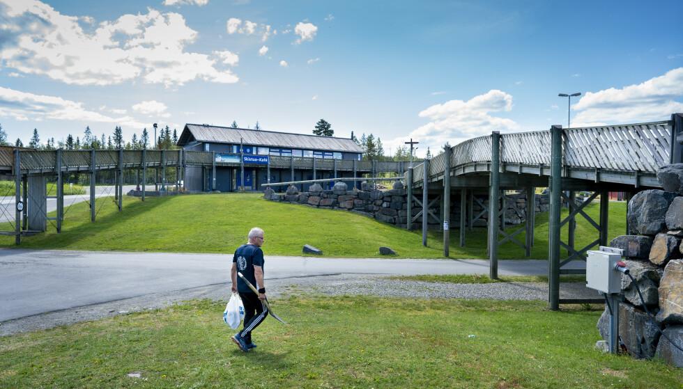 OL-ANLEGG: Birkebeineren skistadion ble bygget til OL i 1994. Foto: John T. Pedersen