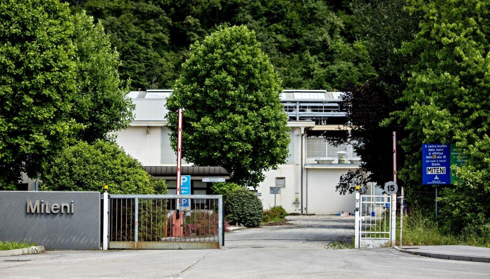 FABRIKKEN: Her hos Miteni i Trissino fikk Swix laget fluorsmøring i over 30 år. Foto: Nina Hansen