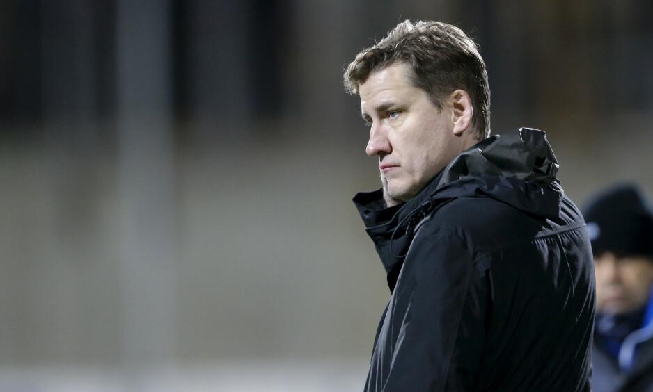 STOLT: Tor Kristian Karlsen er ekstremt stolt over hvordan Start har opptrått dette året. Foto: Jan Kåre Ness / NTB scanpix