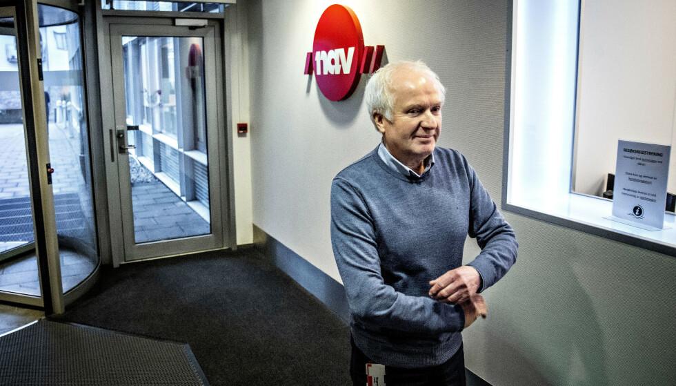 BEKLAGELIG: - Det er en beklagelig situasjon, og det preger oss alle, sier NAVs ryddegutt, seksjonssjef Magne Fladby, til Dagbladet. Foto: Bjørn Langsem