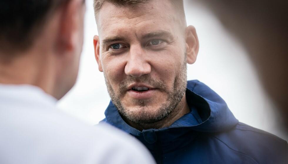 FERDIG: Nicklas Bendtner kontrakt i FC Købehavn forlenges ikke. Det blir spennende å se hva som blir danskens neste stoppested. Foto: Niels Christian Vilmann