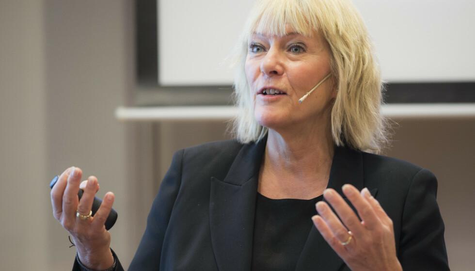 KRITIKK: Kristin Clemet kritiserer Dagbladets leder. Foto: NTB Scanpix