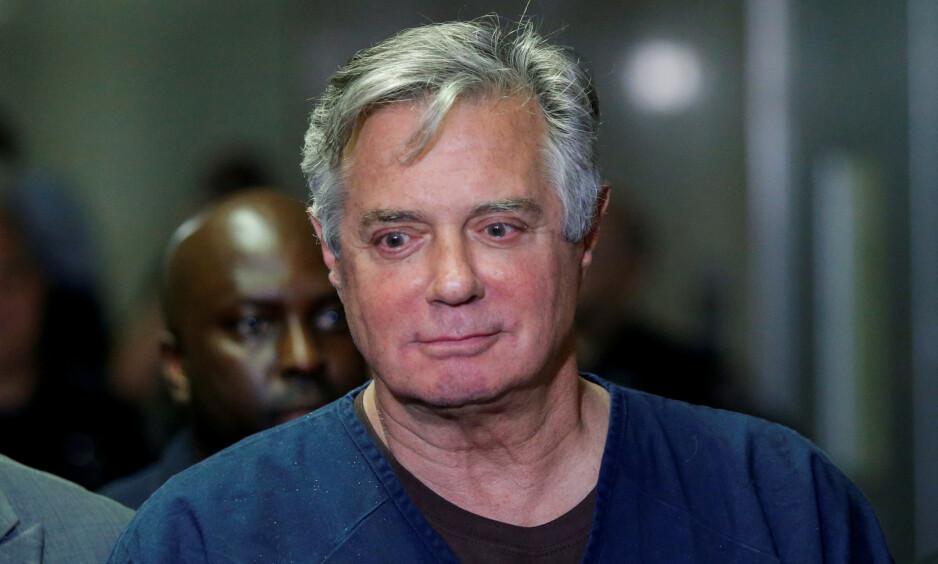 FENGSEL: Paul Manafort soner for tida en fengselstraff på sju og et halvt år. Foto: NTB Scanpix