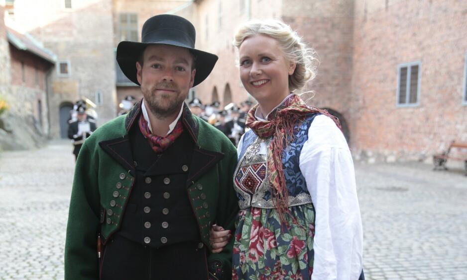 BARN IGJEN: Høyre-politiker Torbjørn Røe Isaksen og kona Henriette Ringnes har fått barn for tredje gang. Foto: NTB Scanpix