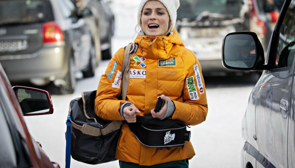 SUVEREN: Therese Johaug har vært i en klasse for seg selv denne vinteren. Her fra NM i fjor. Foto: Bjørn Langsem/Dagbladet
