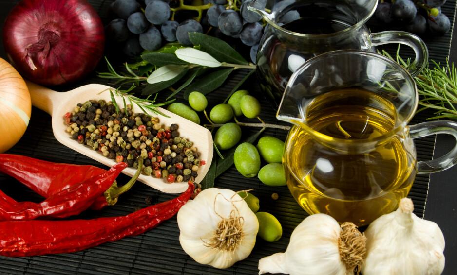 MAT SOM ER BRA FOR HJERTET: Det finnes helt konkrete matvarer som har effekt på hjertehelsa. Foto: NTB Scanpix