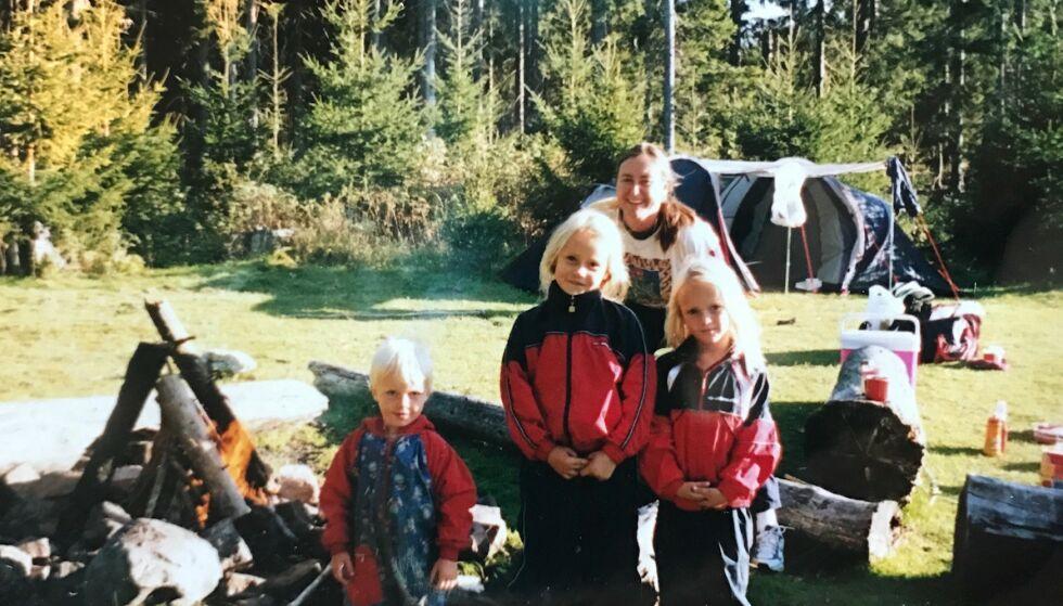 Det kjæreste: Barna var alt for Toril. Hun var også alt for dem, forteller de. Foto: privat.