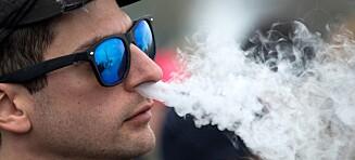 USA hever aldersgrensa for kjøp av tobakk og e-sigaretter