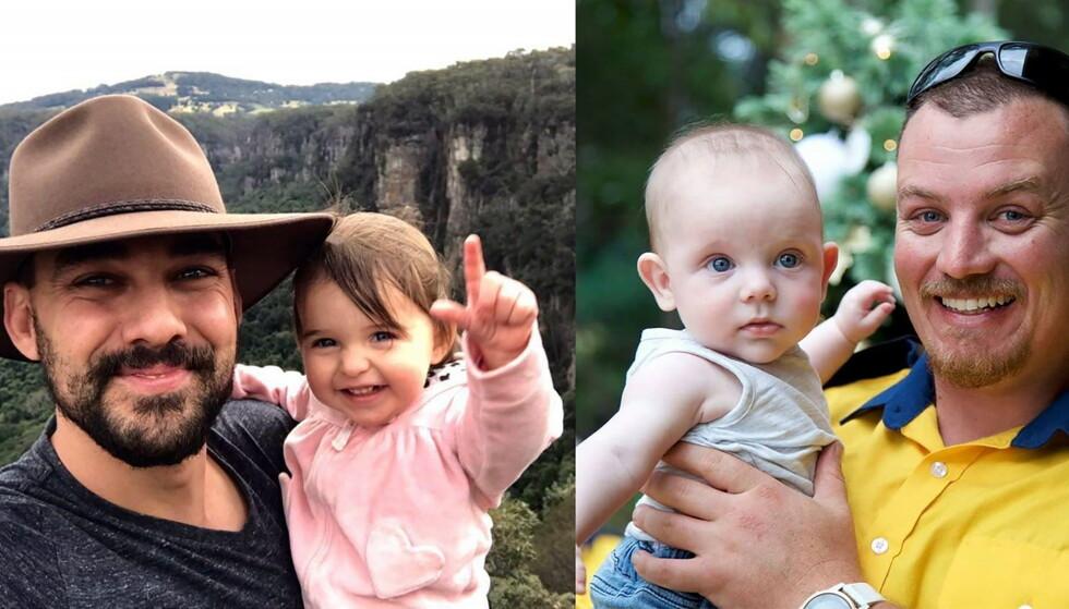 MISTET LIVET: De to brannmennene Geoffret Keaton og Andrew O'Dwyer døde da de prøvde å bekjempe skogbrannene i Australia denne uka. Foto: EPA / Supplied Handout / NTB Scanpix